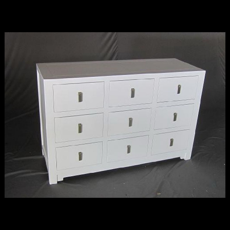 Square 9 Drawer Dresser Acf China