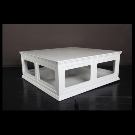 low platform coffee table