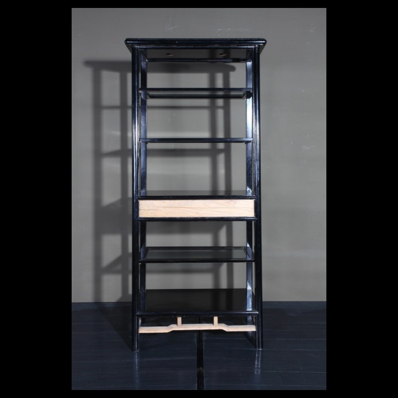 Open back tapered bookcase; Open back tapered bookcase ...