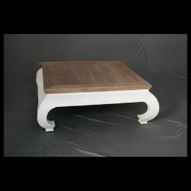 Bow legged coffee table
