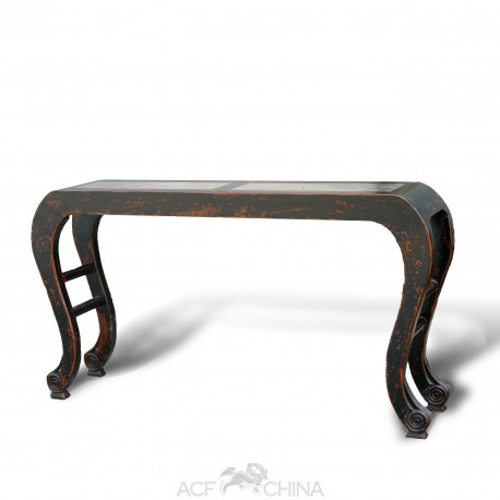 Elegant cabriole console table