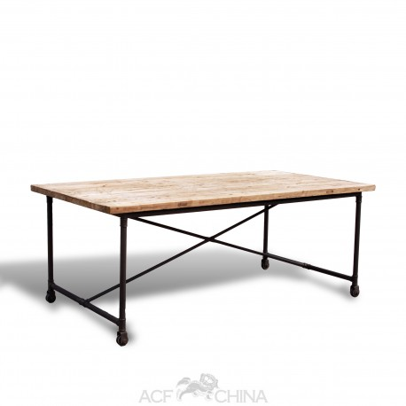 The Industrial Flatiron Table