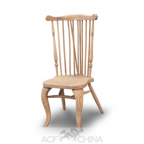 Provincial elm dining chair