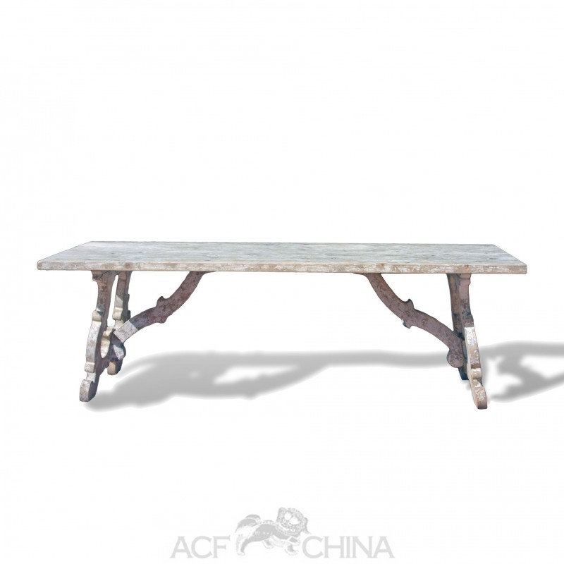 Reclaimed pinewood french country dining table acf china for French country dining table