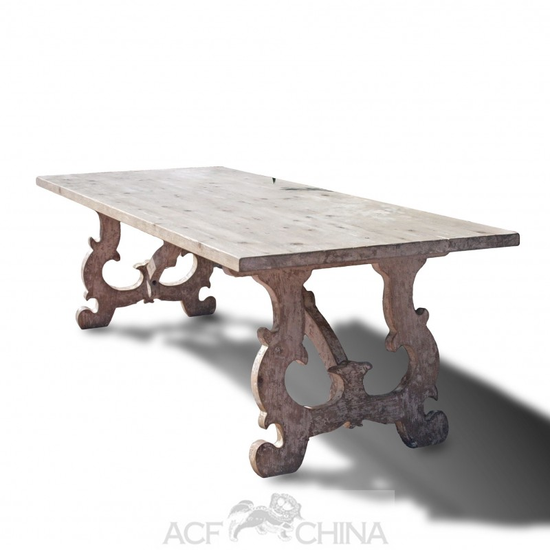 reclaimed pinewood french country dining table room decor tables antique