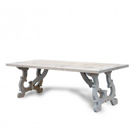 Reclaimed Pinewood French Country Dining Table