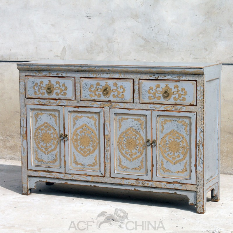 Quot Touch Of Exotic Quot Painted Buffet Acf China