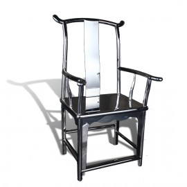 Stainless steel Chinese officals hat chair