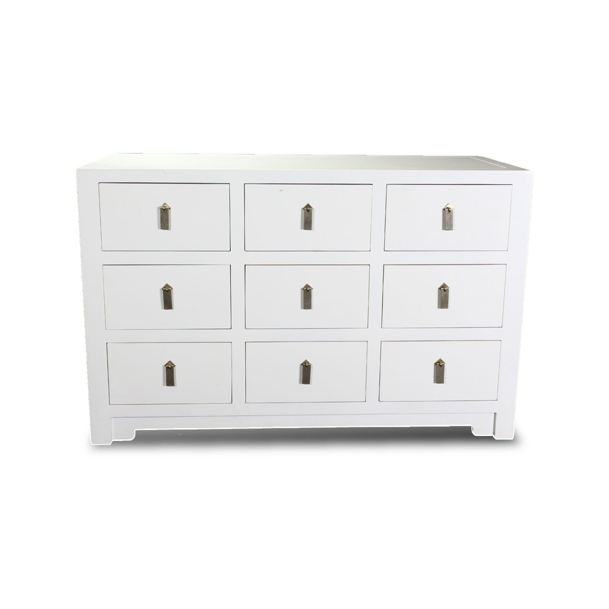Square 9 drawer dresser