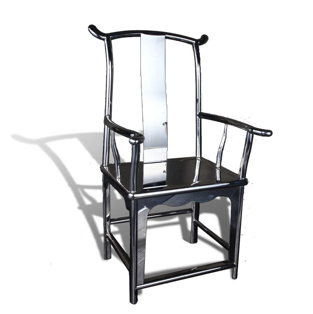 Magnificent Stainless Steel Chinese Officals Hat Chair Gmtry Best Dining Table And Chair Ideas Images Gmtryco