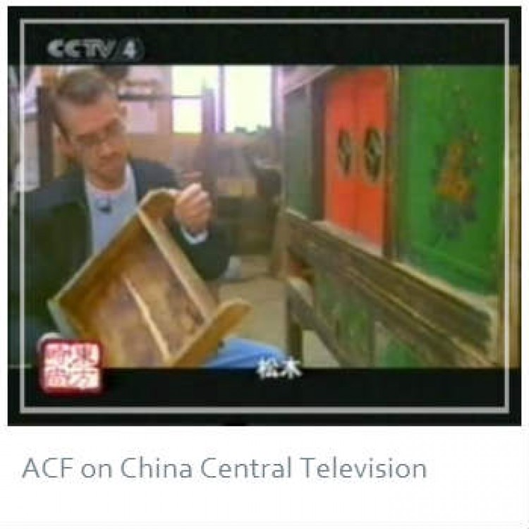 ACF's Roger Schwendeman, featured on CCTV (China Central Television) Channel 4′s program Culture Express. CCTV 4 is broadcast throughout China, Hong Kong, Macao, Taiwan and worldwide via satellite.