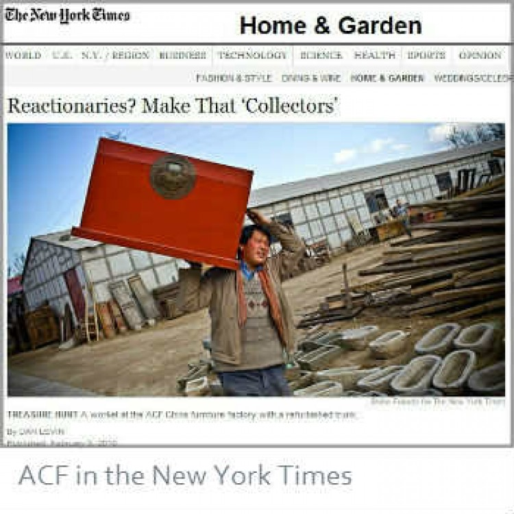 ACF China in the New York Times
