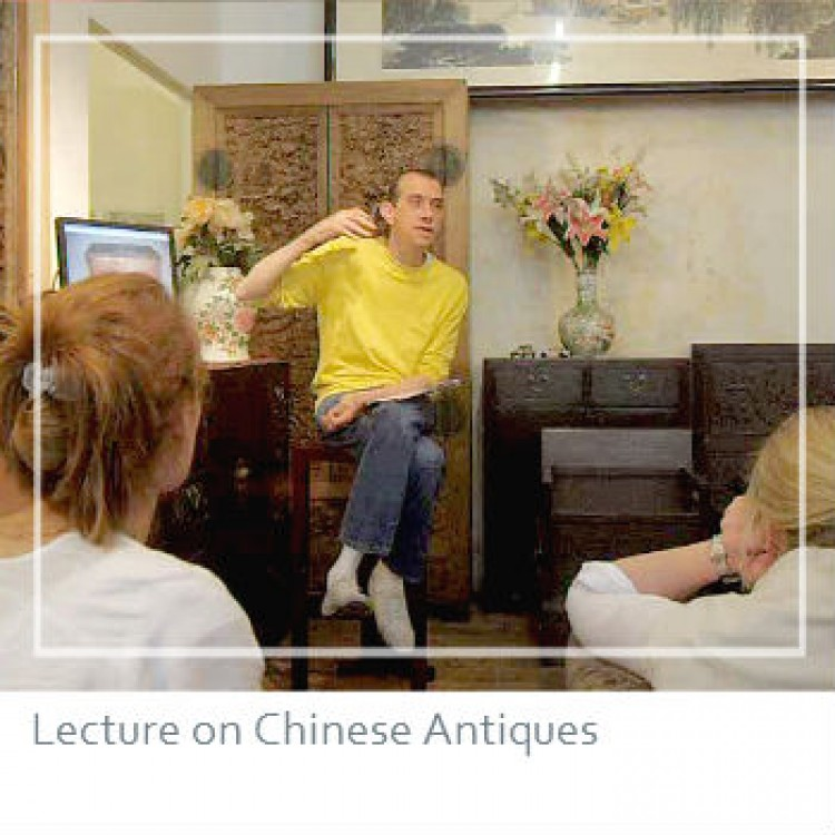 ACF's Roger Schwendeman gives a lecture on Chinese furniture